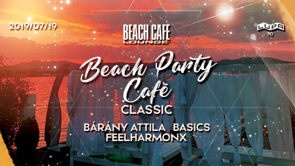 Beach Party Cafe - Bárány Attila
